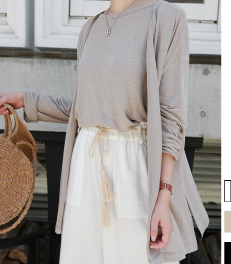 Linen Cardiganset