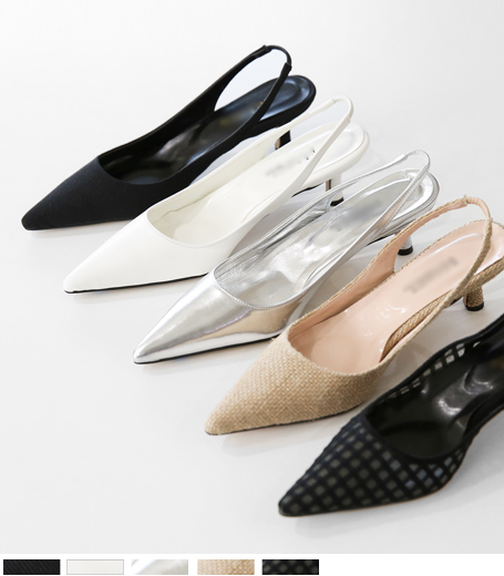 Stiletto Sling backs